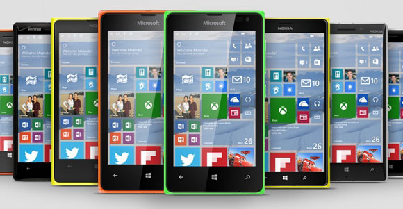 ویندوز10 - ارائه ویندوز 10 برای طیف وسیعی از گوشی های لومیا