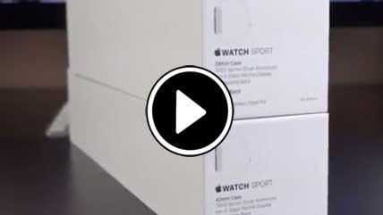 بازگشایی جعبه اپل واچ
