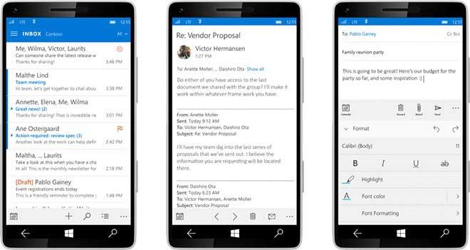 تغییرات جدید در ویندوز 10 برای موبایل - طراحی جدید