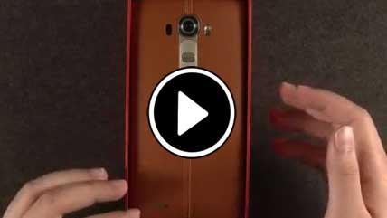 بازگشایی جعبه LG G3