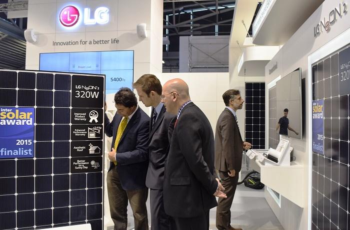 پنل خورشیدی - پنل های خورشیدی LG NeON 2