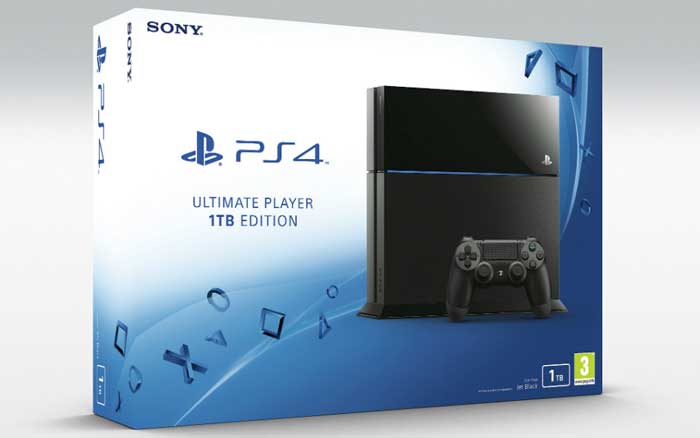 PS4 - ارائه پلی استیشن 4 با حافظه 1 ترابایتی
