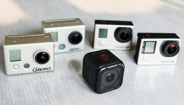 گوپرو Hero4 Session - دوربین جدید gopro hero 4 session