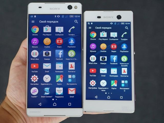 اکسپریا - اطلاعات در مورد گوشیهای C5 و M5 سونی