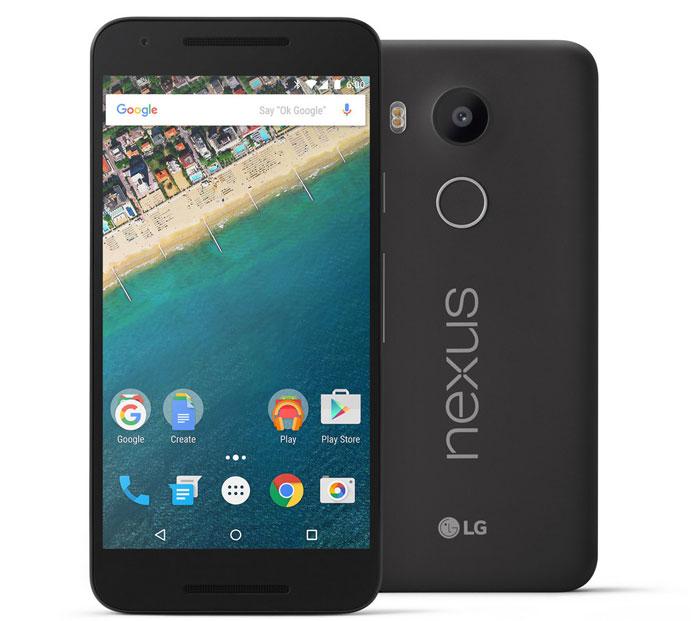Nexus 5X - معرفی ال جی نکسوس 5x