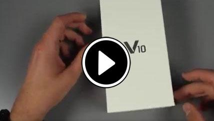 بازگشایی جعبه LG V10