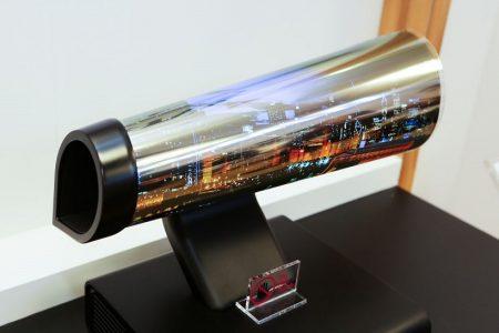 تلویزیون اولد ال جی - LG's 18-inch rollable OLED