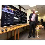 بهترین تلویزیون هوشمند برای نابینایان و کم بینایان