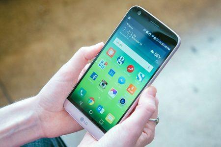 صفحه نمایش LG G5
