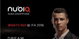 معرفی یک گوشی بدون حاشیه صفحه نمایش توسط zte در نمایشگاه ifa 2016