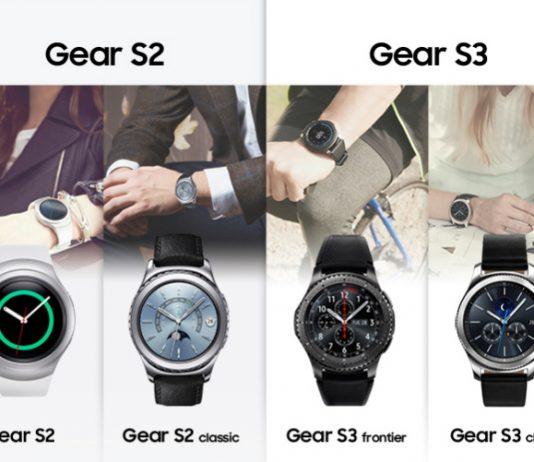 مقایسه اینفوگرافیک سامسونگ Gear S3 و گیر اس 2