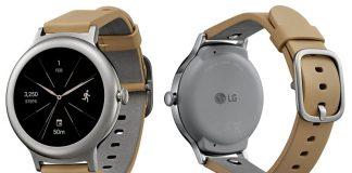 ارائه تصویر رسمی LG Watch Style نقرهای و رز-گلد