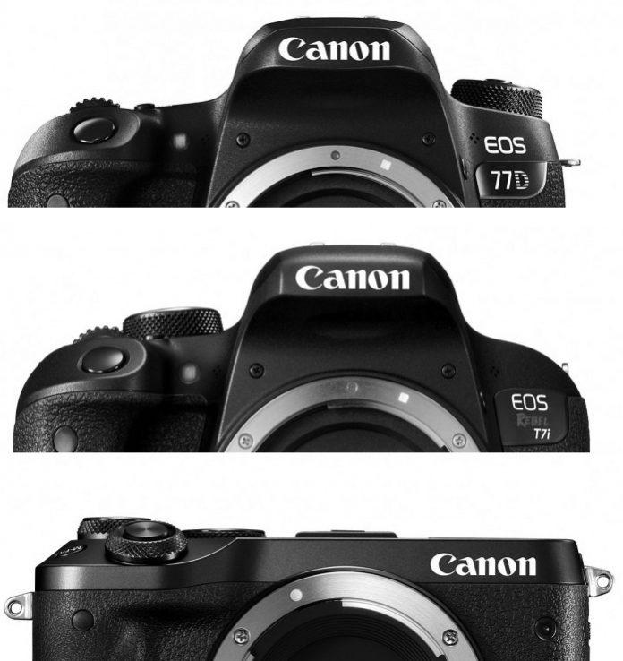 معرفی کانن 77D همراه با 800D و دوربین بدون آینه M6