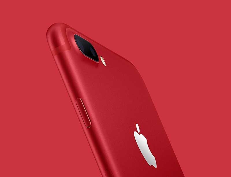 آیفون 7 و آیفون 7 پلاس قرمز رنگ معرفی شدند