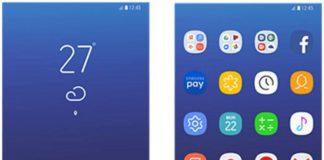طراحی جدید منوی گلکسی S8 ؛ ساده، متفاوت