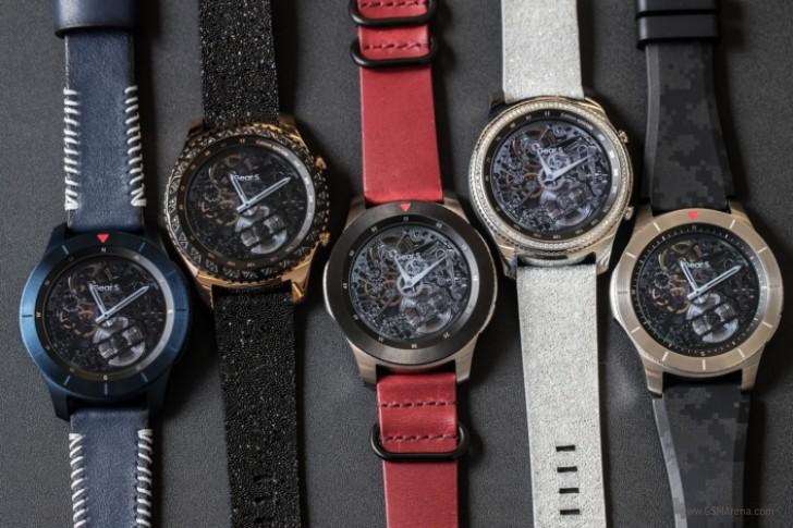 ساعتهای هیجانانگیر Gear S3 سامسونگ در نمایشگاه بازل