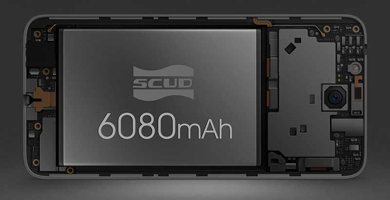این Oukitel K6000 Plus است؛ باتری 6000mAh فقط 180 دلار!