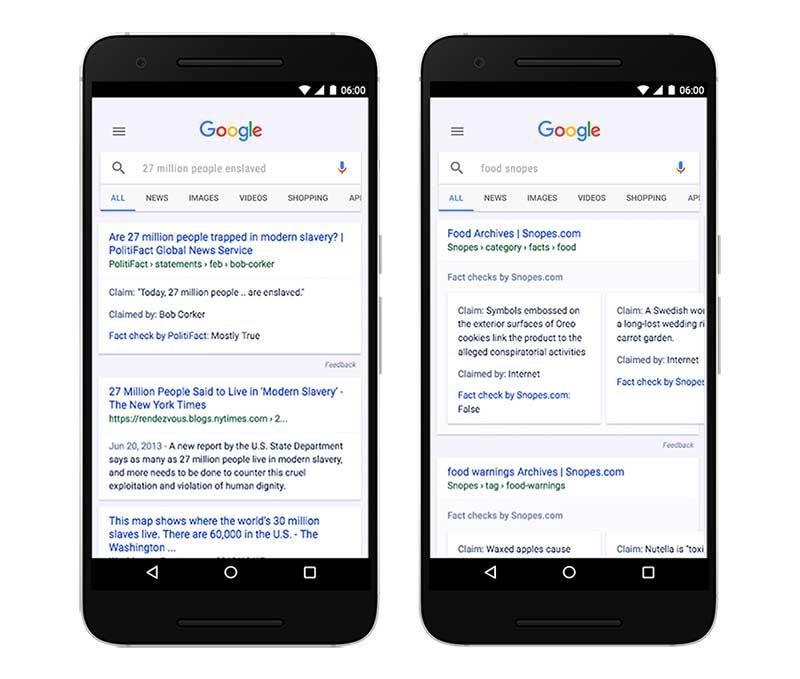 تلاش گوگل برای مبارزه با خبرهای دروغ با Fact Check
