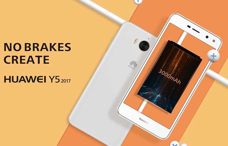 گوشی ارزان هواوی Y5 2017 رسما معرفی شد