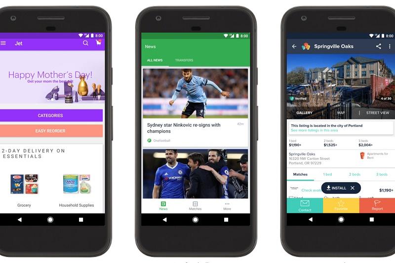 Instant Apps اپلیکیشن آنی گوگل یک قدم نزدیکتر به واقعیت