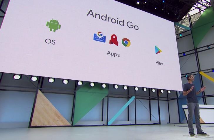 معرفی اندروید Go برای گوشیهای با حداکثر 1GB رم