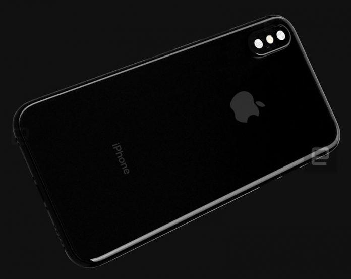 عکس جدید آیفون 8 با دوربینهای دوگانه عمودی و بدنه شیشهای
