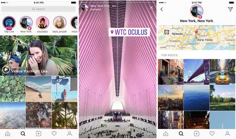 دو قابلیت جدید اینستاگرام ؛ استوری براساس مکان و هشتگ