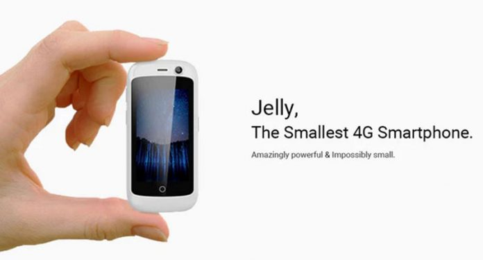 به دنبال گوشی کوچک 4G هستید؟ Jelly را با اندروید 7 ببینید