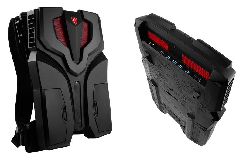 معرفی لپ تاپ بازی MSI Titan و PC کولهپشتی VR One