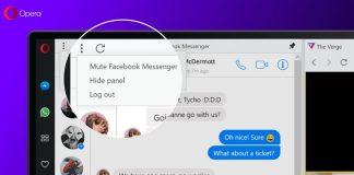 نسخه جدید اوپرا دسترسی مستقیم به مسنجر،واتساپ و تلگرام