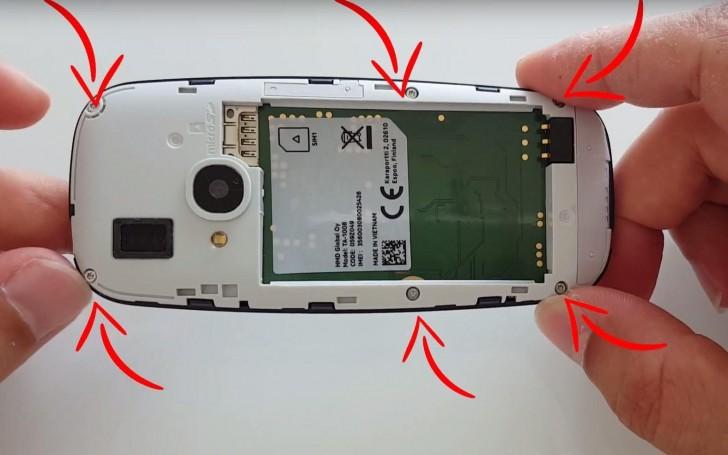 کالبدشکافی Nokia 3310 جدید ؛ بازگشایی در چند ثانیه