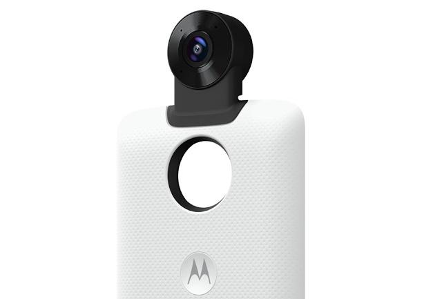 معرفی موتو ماد دوربین 360 درجه برای Moto Z