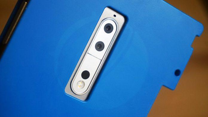 ماژول دوربین نوکیا 8 با دو لنز و نشان زایس لو رفت