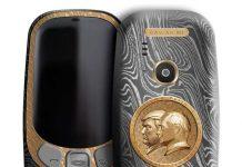 نوکیا 3310 خاویار با تصویر پوتین-ترامپ 2,466 دلار!!