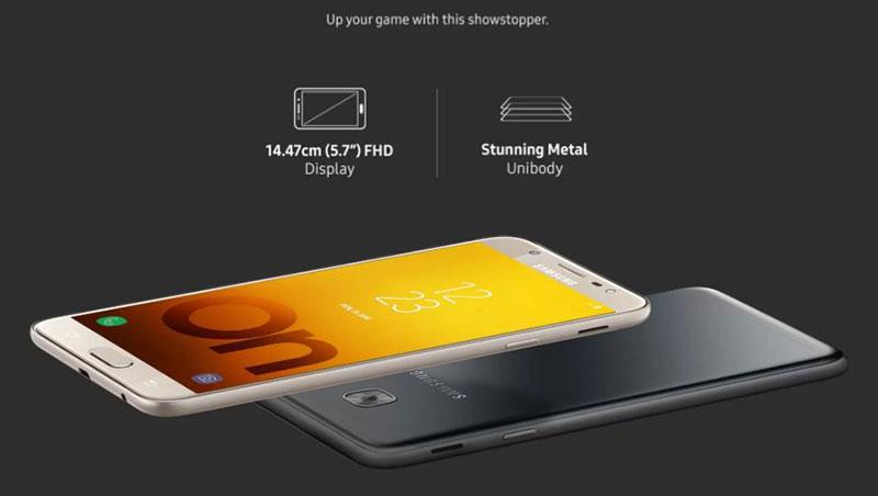 سامسونگ Galaxy On Max معرفی شد تقریبا همان J7 Max