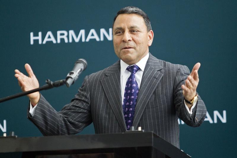 Dinesh Paliwal مدیرعامل شرکت هارمان