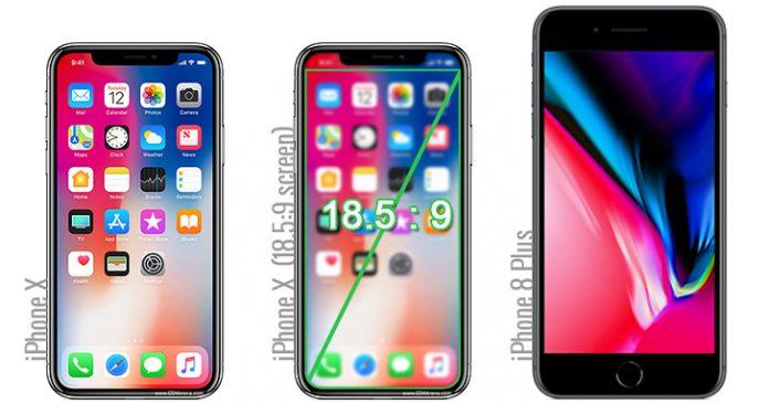 صفحه نمایش آیفون 10 کوچکتر از آن چیزی ست که فکر میکنید!