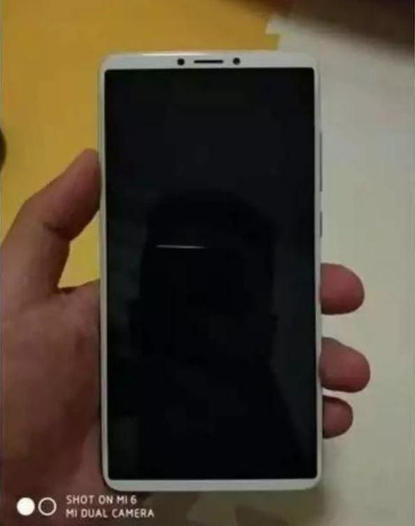 تصویری از ردمی Note 5 اولین فول اسکرین شائومی