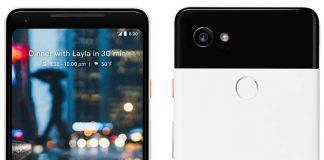 تصویر هر دو موبایل پیکسل گوگل یک روز زودتر از رونمایی