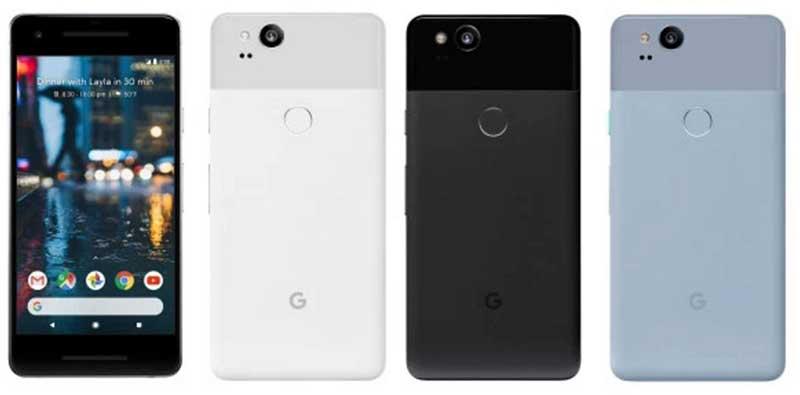 تصویر هر دو موبایل پیکسل گوگل یک روز زودتر از رونماییتصویر هر دو موبایل پیکسل گوگل یک روز زودتر از رونمایی