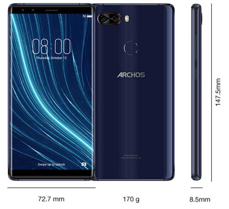 آرکوس دایموند اومگا : گوشی جدید آرکوس با صفحهنمایش 18:9
