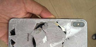 تست سقوط آیفون 10 : پرچمدار اپل به راحتی میشکند!