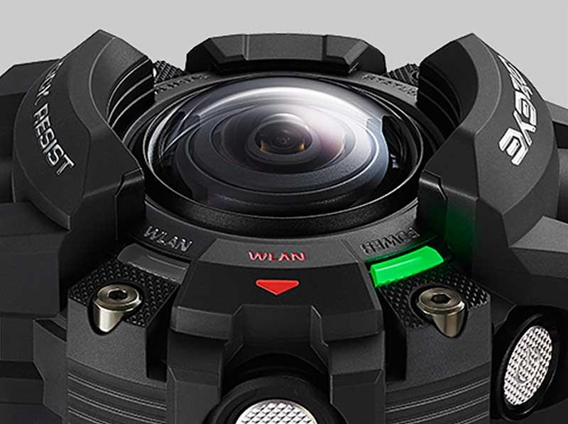 معرفی دوربین ورزشی کاسیو : جیشاک با لنز اضافه!