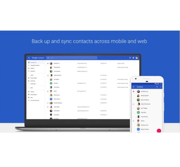 آپدیت گوگل Contact برای اندروید : عکسهای بزرگتر