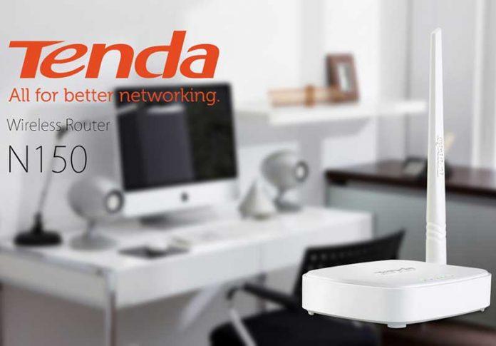 روتر بیسیم خانگی مقرون به صرفهTenda N150