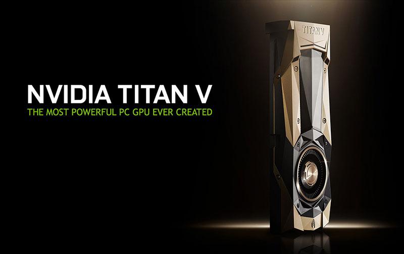 معرفی انویدیا Titan V کارت گرافیک 3 هزار دلاری !