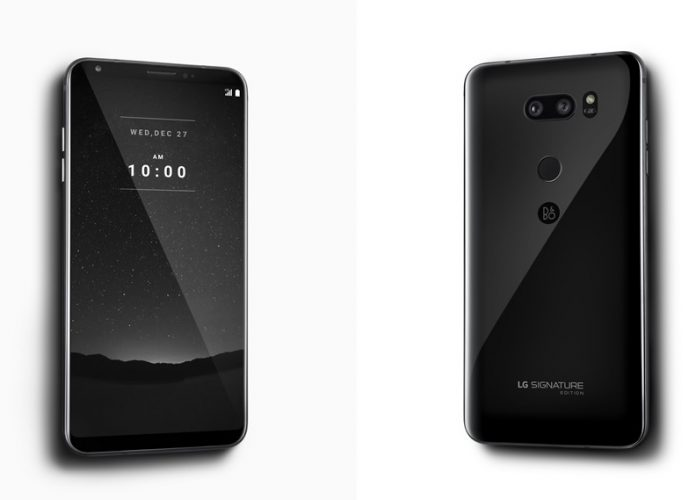با LG V30 Signature با قیمت 1,800 دلار آشنا شوید!