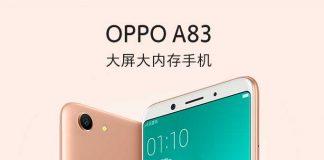 اوپو A83 با صفحهنمایش 5.7 اینچی و قیمت 215 دلار معرفی شد