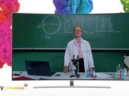 QLED دریچهای به دنیای رنگ برای مبتلایان بیماری CVD