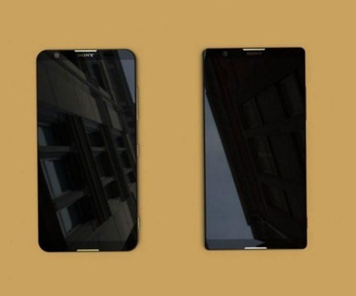 تصویر دو اسمارت فون جدید سونی با صفحهنمایش فولاسکرین؟